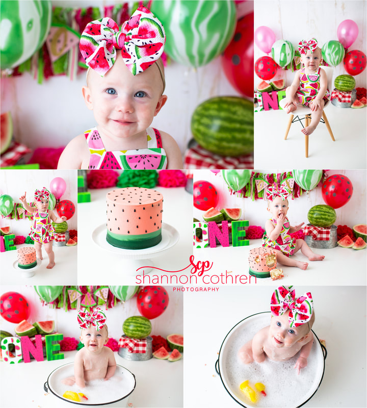 Watermelon Cake Smash