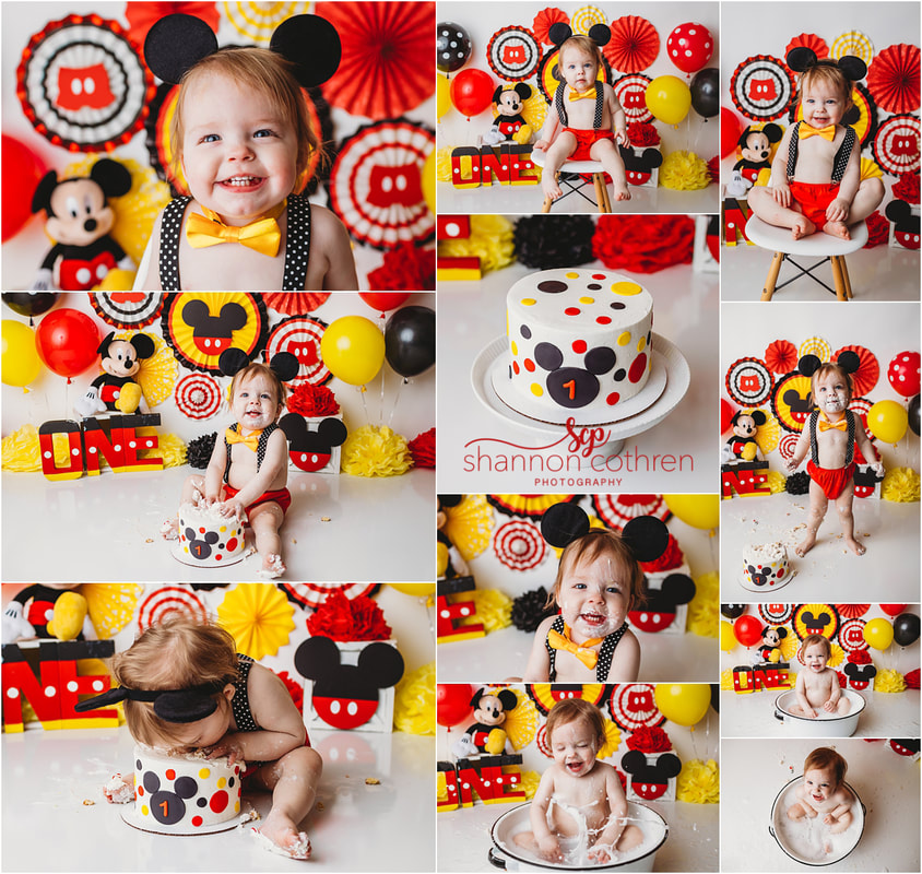 Mickey Mouse Cake Smash